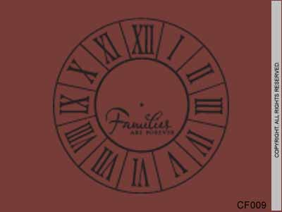 Clock Face Families Are Forever - CF009