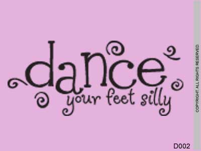 Dance Your Feet Silly - D002