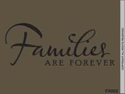 Families Are Forever - FA002