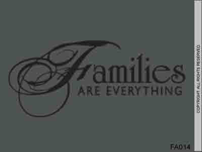 Families Are Everything - FA014