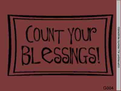 Count Your Blessings! - G004