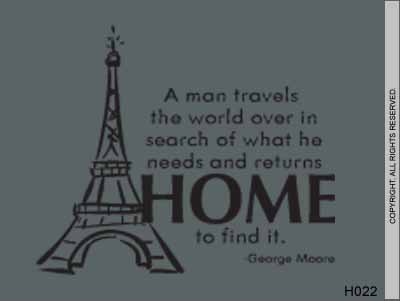 A Man Travels The World Over In Search Of What He Needs - H022