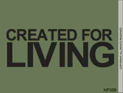 Created For Living - HF006