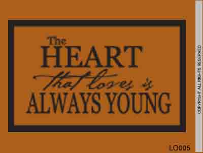 The Heart That Loves Is Always Young - LO005
