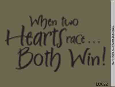 When Two Hearts Race... Both Win! - LO022