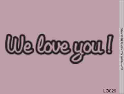 We Love You! - LO029
