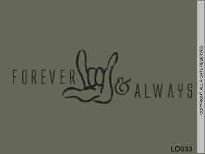 Forever & Always - LO033