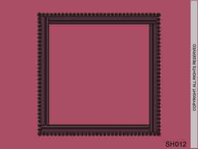Ribbon Frills Border - SH012
