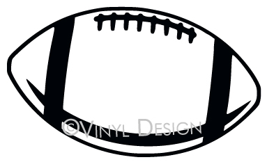 Football - Outline - Football - Sports - VRD-CP005