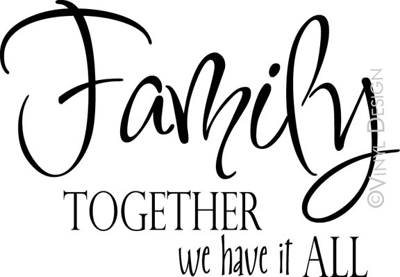 Family - Together We Have it All - VRD-F008