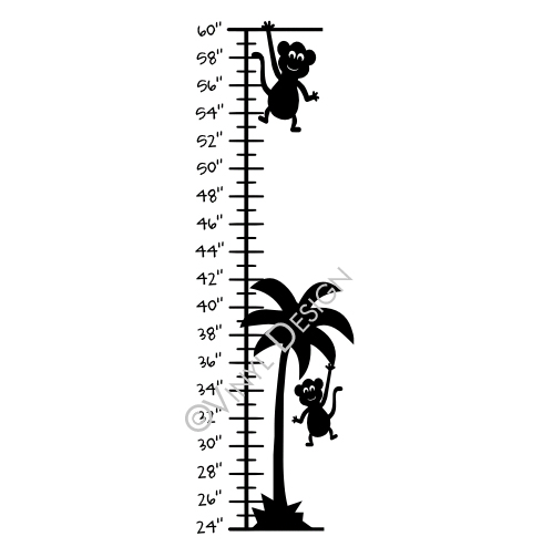 Palm Tree, Monkey - VRD-GC010