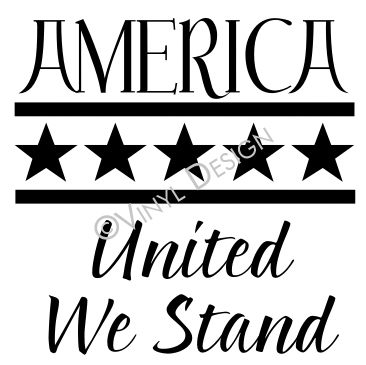 America - United We Stand - VRD-HD005