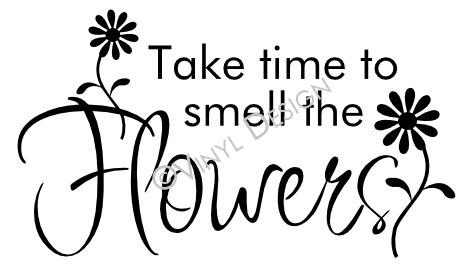 Take time to smell the flowers - Garden - VRD-HD013