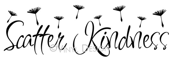 Scatter kindness - dandelion seeds - - VRD-I006