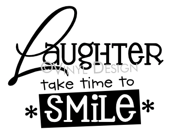 Laughter Take Time to Smile - VRD-I014