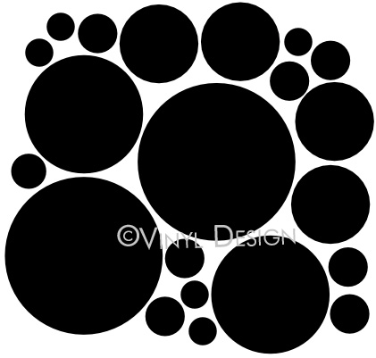 Set of Polka Dots, Circles - VRD-SH007