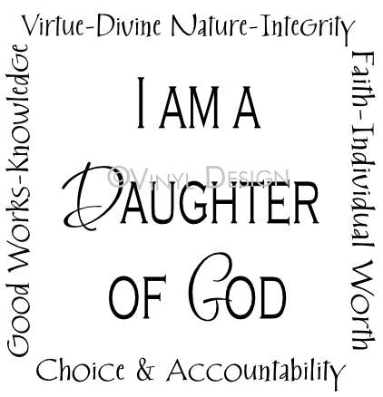 I Am a Daughter of God - Faith, Divine Nature, Individu - VRD-TL