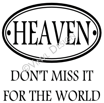 Heaven - Don't Miss It for the World - VRD-TL052