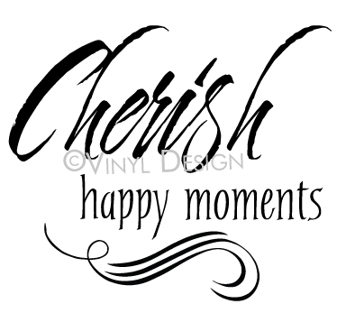 Cherish Happy Moments - VRD-TL055