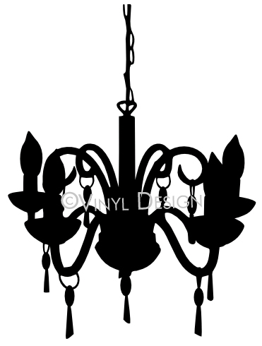 Decorative Chandelier Sillhouette - VRD-WA029